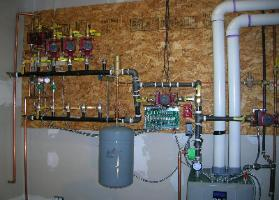 High-Efficiency Peerless PureFire Condensing Boiler Installation serves Radiant Heating System, Tivoly, Dutchess County, NY