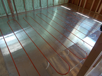 Radiant Floor Heating System installed by APEX Thermal Services, Chestnut Ridge, Rockland Co, NY