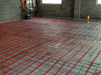 Ulster County Community College Solar Thermal Assisted Radiant Heated Slab, Kelder Hall, Pound Ridge, NY