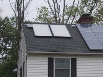 APEX Thermal Services installs an off-grid Solar Thermal System in Westchester County, Sleepy Hollow, NY