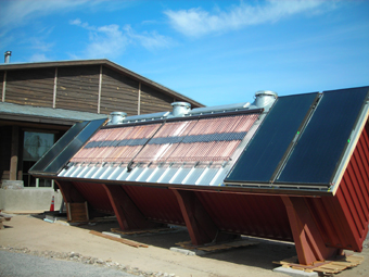 "Multiple ""Award Winning"" Commercial Solar Thermal System Installation at The Wild Center, Natural History Museum of the Adirondacks, Tupper Lake, NY"