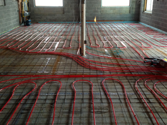 Ulster County Community College Solar-Assisted Radiant Slab, Kelder Hall, Stone Ridge, Ulster County, NY
